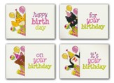 Peek-A-Boo (KJV) Box of 12 Assorted Birthday Cards