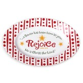 Rejoice Christmas Tray (Luke 2:11)