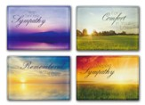 Beyond the Sunset (KJV) Box of 12 Assorted Sympathy Cards