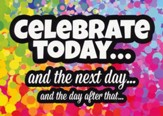 Celebrate! Teen (NIV) Box of 12 Assorted Birthday Cards