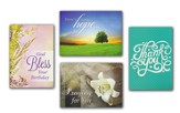 Faithful Moments (KJV) Box of 12 Assorted All Occasion Cards
