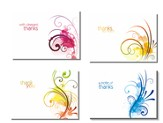 A Note of Thanks (NIV) Box of 12 Assorted Thank You Cards
