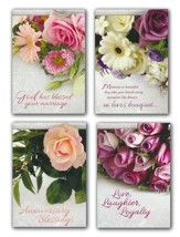 Lasting Love (KJV) Box of 12 Assorted Anniversary Cards