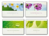 Sending You Smiles (NIV) Box of 12 Assorted Get Well Cards