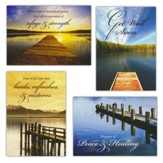 Peace and Healing (KJV) Box of 12 Assorted Get Well Cards