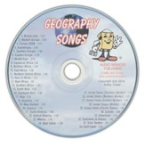 Audio Memory Geography Songs CD Only