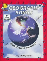 Audio Memory Geography Songs Book Only