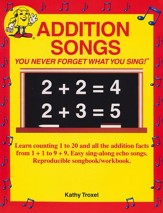 Audio Memory Addition Songs Book  Only