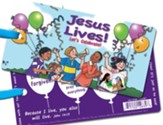 Jesus Lives! Let's Celebrate! 3D Bookmark