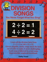 Audio Memory Division Songs Book  Only