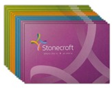 Stonecroft Blank Note Cards, 12 Pack