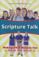 Scripture Talk DVD: Making Bible Memory Fun through Hand Motions