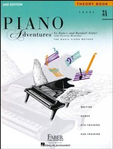 Piano Adventures 2nd Edition, Theory Book, Level 3A