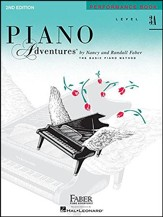 Piano Adventures 2nd Edition, Performance Book, Level 3A