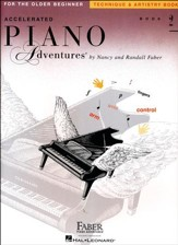Accelerated Piano Adventures for the Older Beginner: Technique & Artistry Book 2