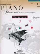 Accelerated Piano Adventures for the Older Beginner: Christmas Book 1