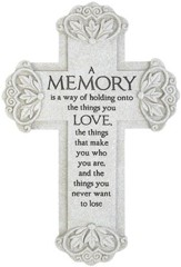Memory, Resin Wall Cross