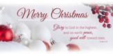 Merry Christmas - Glory To God (Luke 2:14, KJV) Offering Envelopes, 100
