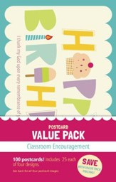 Classroom Encouragement Value Pack Postcards, 100