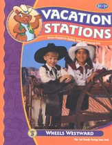 BJU Vacation Stations Book 2: Wheels Westward Grades 1-2