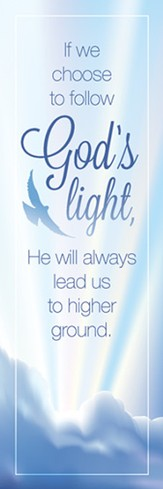 Follow God's Light (John 8:12) Bookmarks, 25