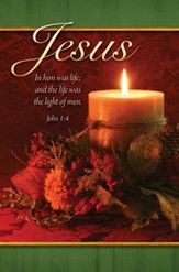 The Life Was the Light (John 1:4) Christmas Bulletins, 100