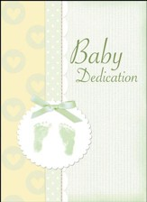 Baby Dedication (Proverbs 22:6) Green Foil Embossed Certificates, 6