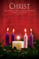 Christ (Luke 2:11) Advent Bulletins, 100