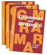Saxon Grammar & Writing Grade 6 Kit,  2nd Edition