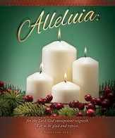 Alleluia (Revelation 19:6-7) Large Bulletins, 100