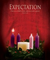 Expectation (Isaiah 9:6) Large Advent Bulletins, 100