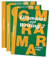 Saxon Grammar & Writing Grade 7 Kit, 2nd Edition