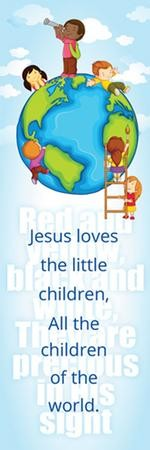 Jesus Love the Little Children (Matthew 18:5, ESV) Bookmarks, 25
