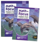 Math in Focus Grade 8 1st Semester  Student Homeschool  Package