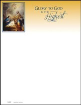 Adoration of the Angels, Letterhead, 100