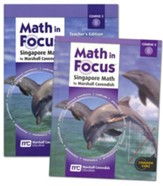 Math in Focus Grade 8 2nd Semester  Student Homeschool  Package