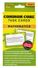Common Core Math Task Cards, Grade 3