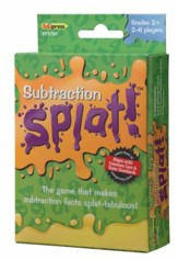 Subtraction, Math Splat Game