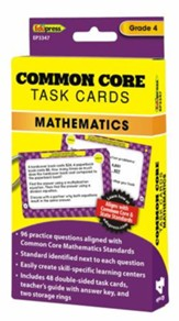 Common Core Math Task Cards, Grade 4