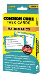 Common Core Math Task Cards, Grade 5