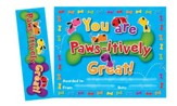 Paws-itively Great! , Bookmark Awards (Pack of 30)