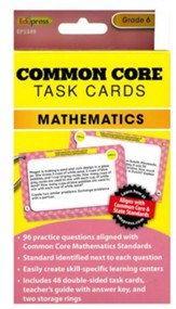 Common Core Math Task Cards, Grade 6