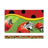 Ladybugs, Layered-Look Border