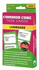 Common Core Language Task Cards, Grade 3