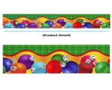 Colorful Ornaments, Layered-Look Border