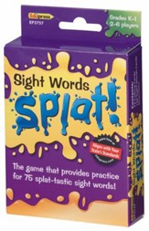 Sight Words Splat Game, Grades K-1