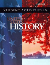 BJU Heritage Studies 11: United States History, Student Activities (Third Edition)