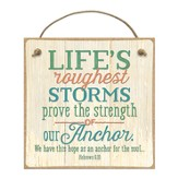 Life's Roughest Storms Prove the Strength Of Our Anchor Magnet
