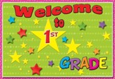 Welcome to 1st Grade Postcard, Pack of 30