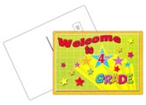Welcome to 4th Grade Postcard, Pack of 30